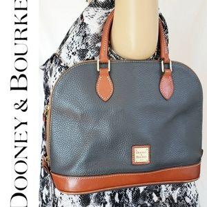 Dooney & Bourke Green Brown Purse